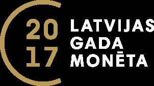 Latvijas gada monēta 2017