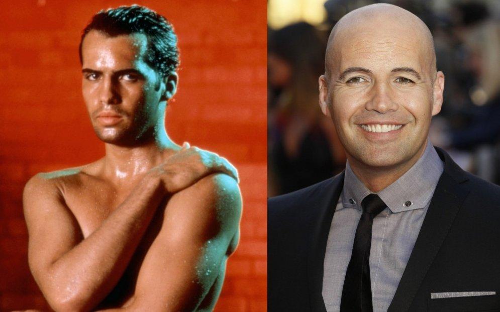 Kā Holivudas slavenākie plikgalvji izskatījās, kad vēl bija ar matiem