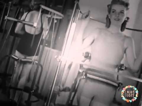 Trenažieru zāle sievietēm 1940...