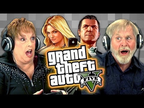Seniori spēlē GTA V