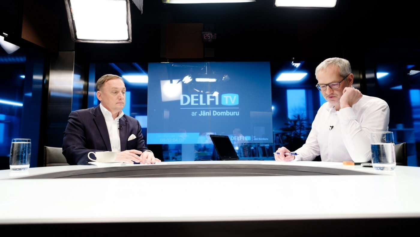 'Delfi TV ar Jāni Domburu' – atbild LB prezidenta amata kandidāts Mārtiņš Kazāks. Pilns ieraksts