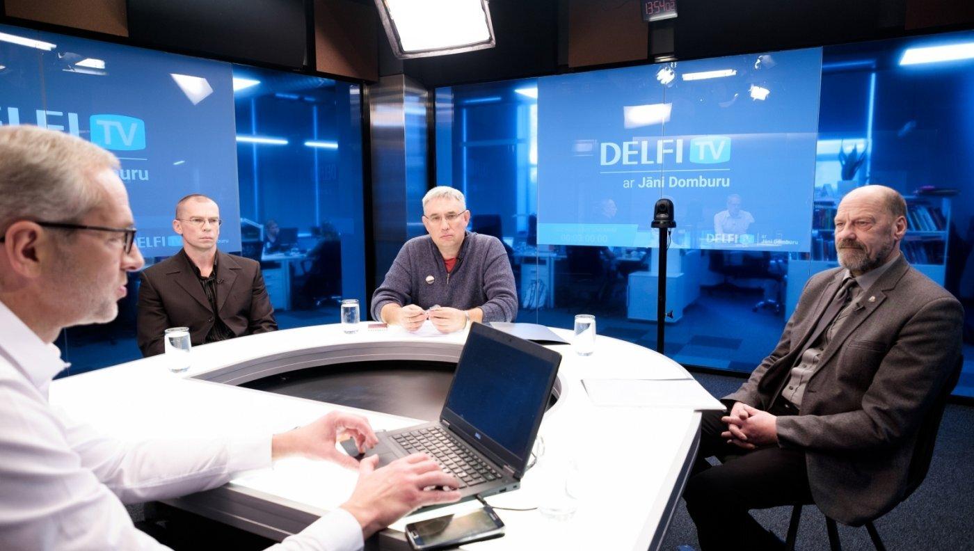 'Delfi TV ar Jāni Domburu' diskusija par kritušo karavīru meklēšanu. Pilns ieraksts