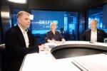 Лидеры списков НКП на выборах Сейма— Юрашс, Стрике, Борданс, Фелдманис и Шуплинска