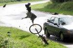 Из-за поздней весны в этом году на дорогах пострадало меньше велосипедистов