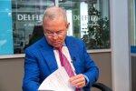 'Lemberga šakāļi un okupācija' – sociālajos tīklos priecājas par Ventspils mēra interviju ar Domburu