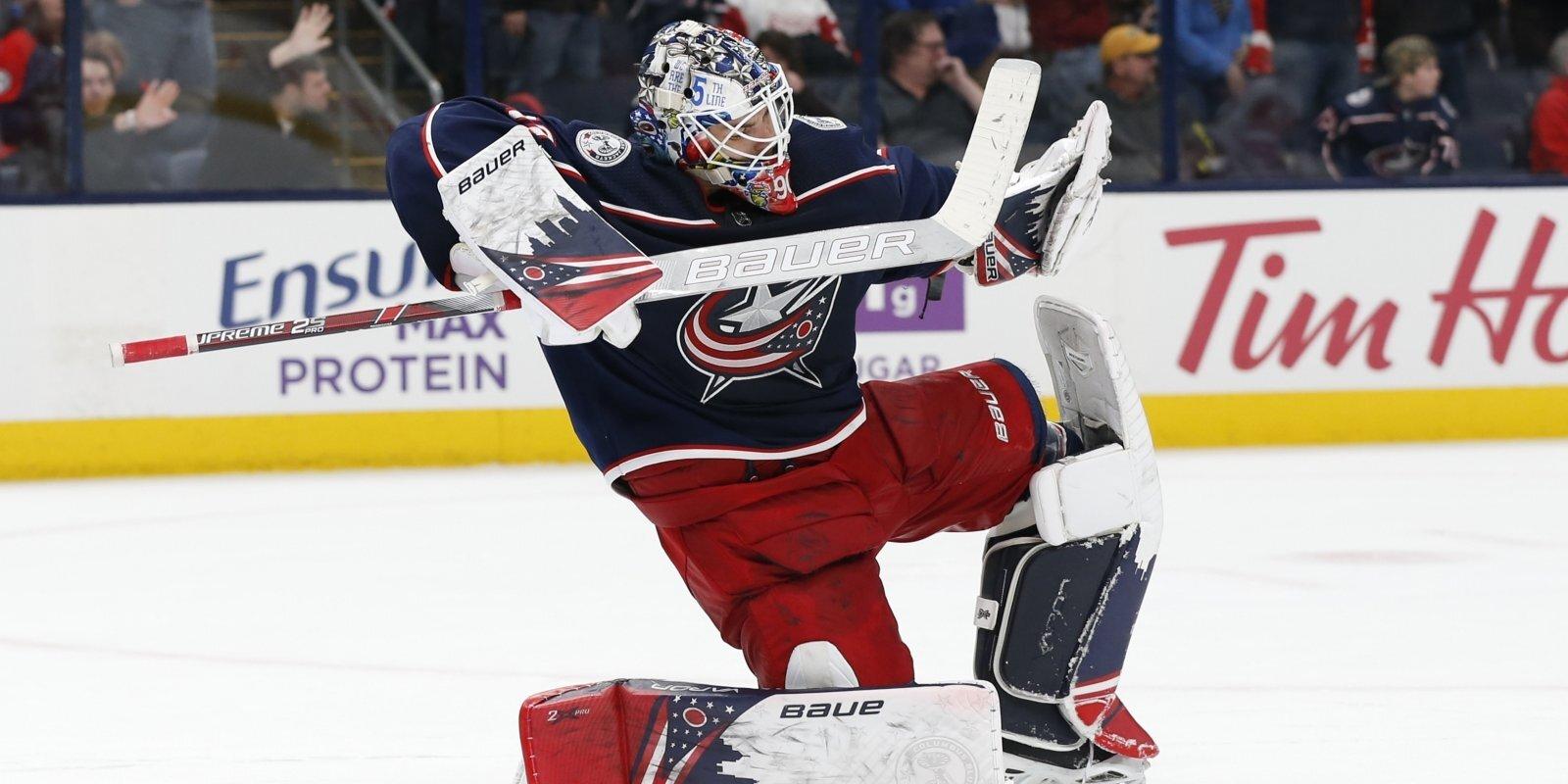 Merzļikins un NHL sezonas labākā debitanta balva: cerības un realitāte