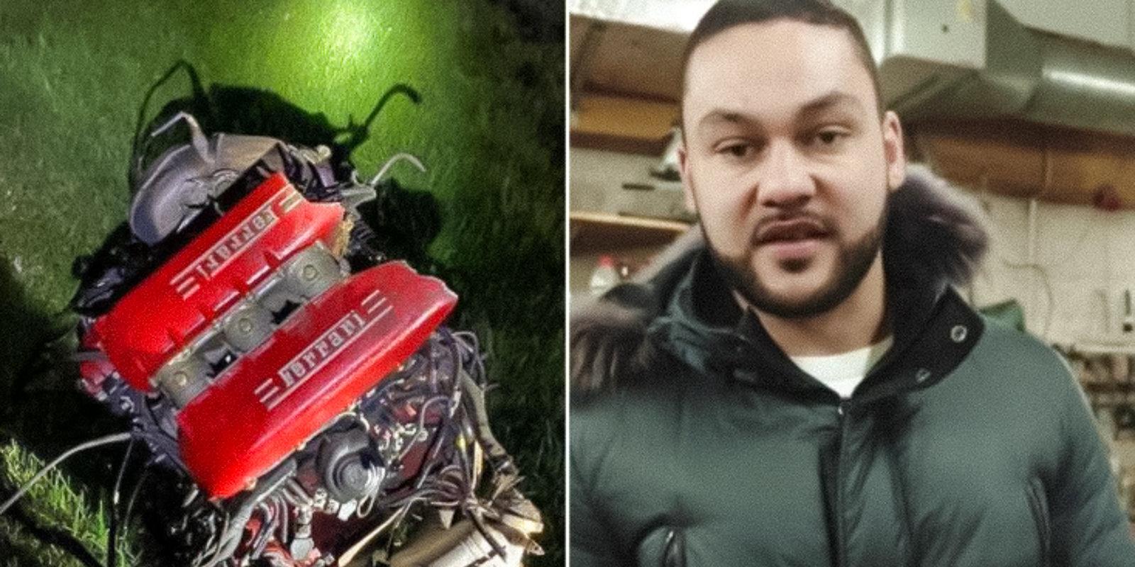 'Viņš mīlēja ātrumu un dzīvi' — traģiskajā 'Ferrari' avārijā Salaspilī bojā gājis vīrs ar sievu