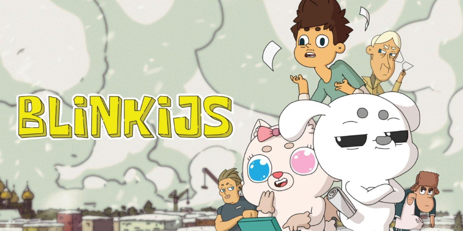 Pirmizrādi piedzīvo jauns animācijas komēdijseriāls 'Blinkijs'