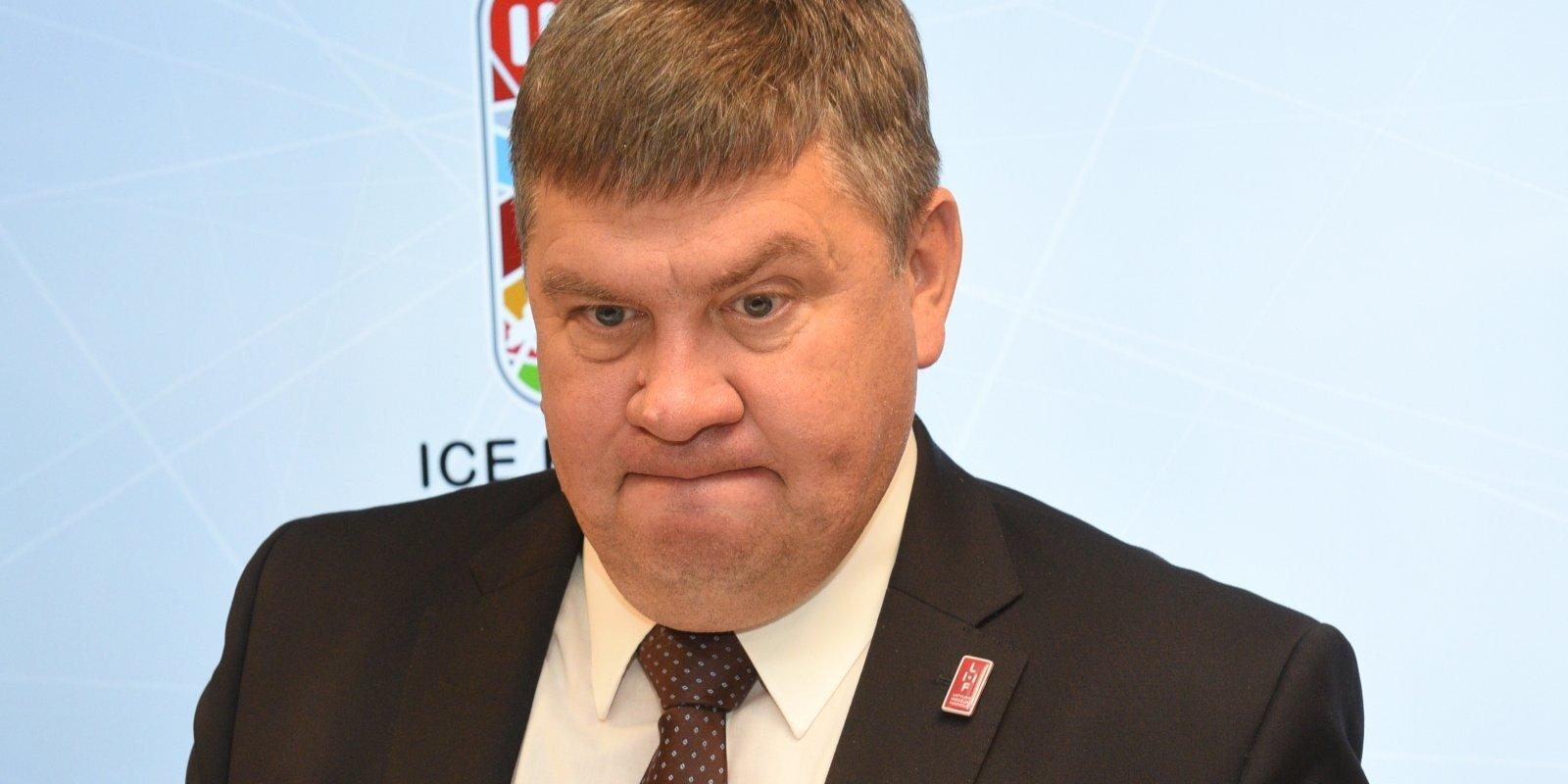 Хоккей без Лукашенко? Что будет с чемпионатом мира, который Латвия должна провести вместе с Беларусью