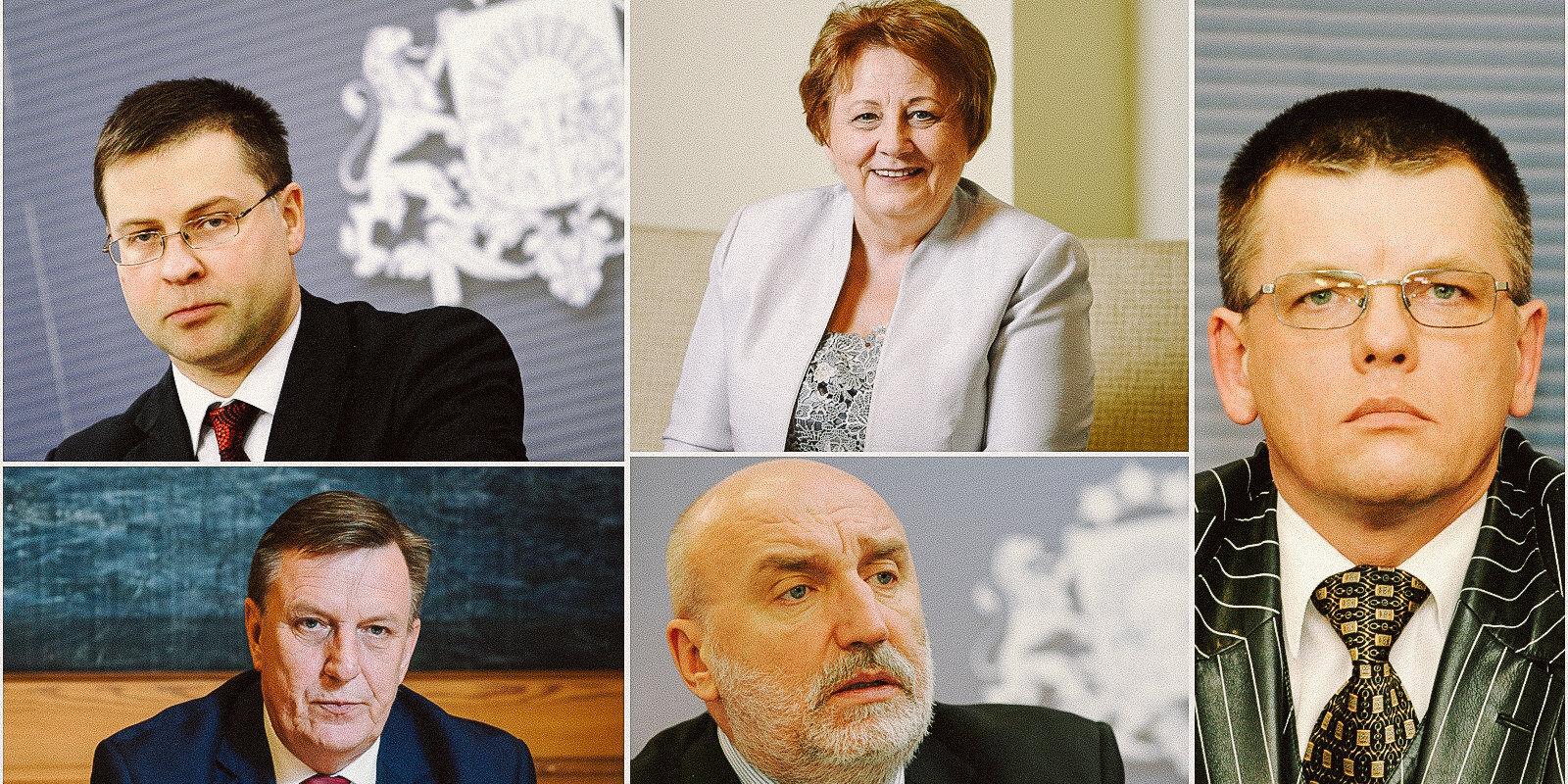 Kā Covid-19 krīzi Latvijā vadītu Godmanis, Kučinskis, Repše un Straujuma