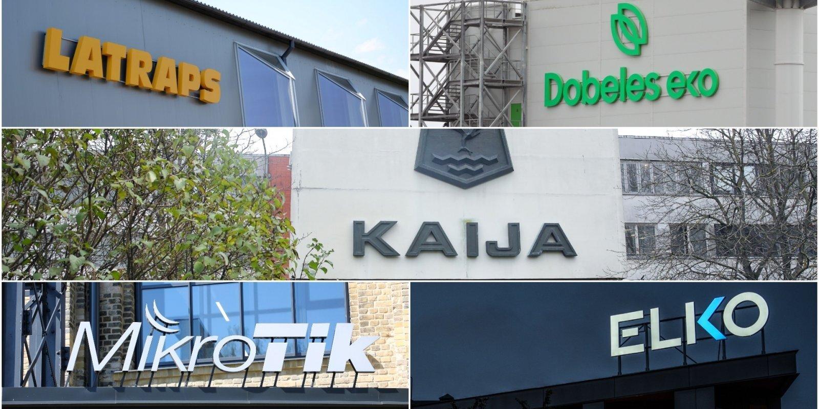 Top 100: Latvijas eksportētāji spītē pandēmijai