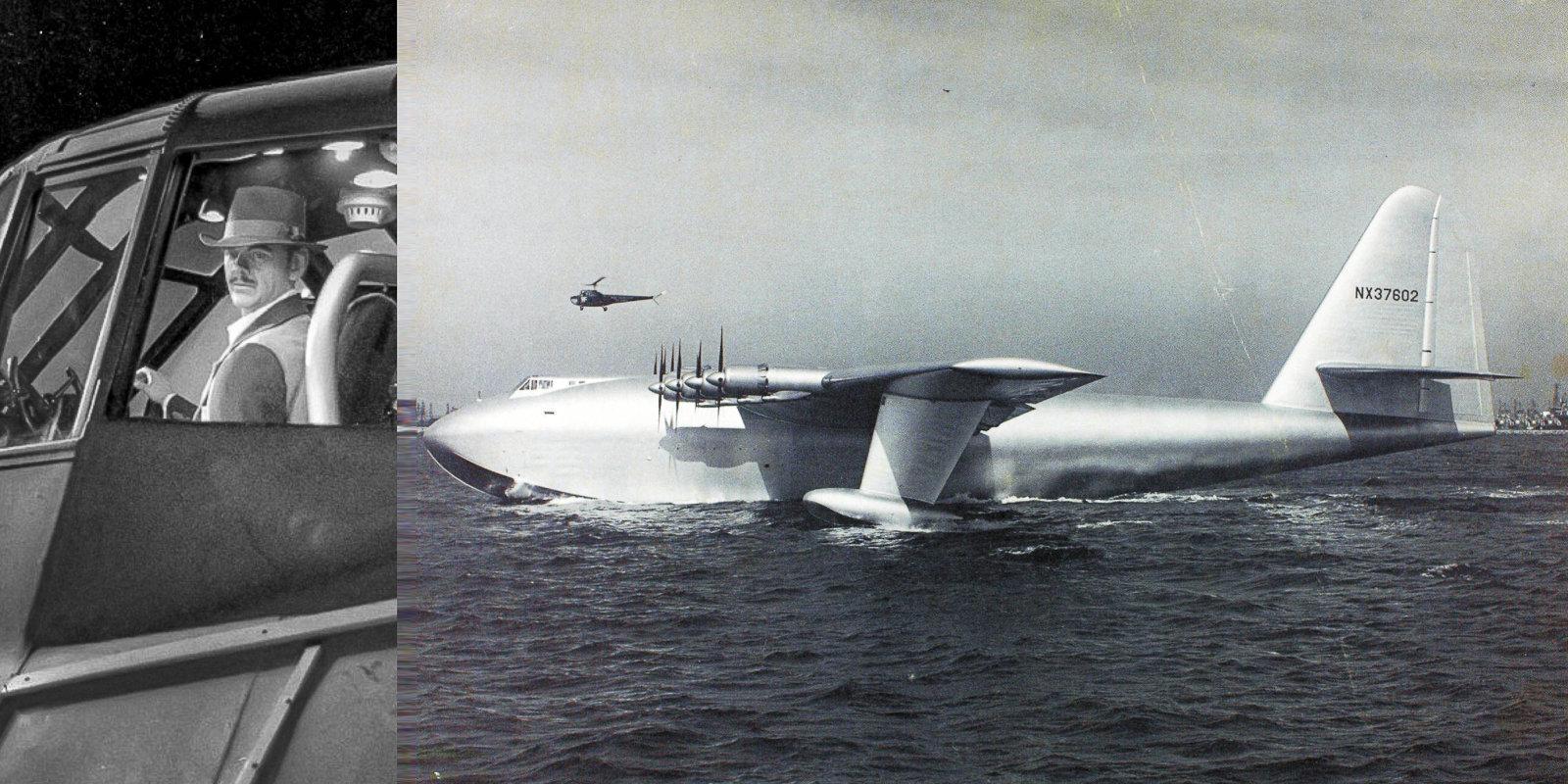 'Egles zoss': pasaulē lielākā lidlaiva, kas gaisā pavadīja tikai 26 sekundes