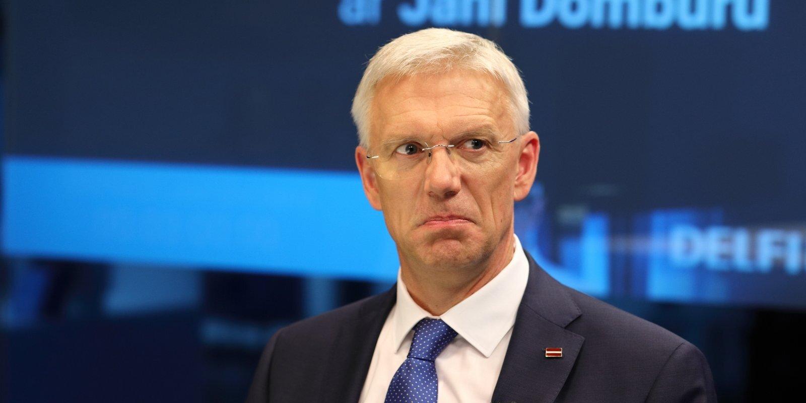 'Delfi TV ar Jāni Domburu' atbild Ministru prezidents Krišjānis Kariņš. Sarunas teksts.