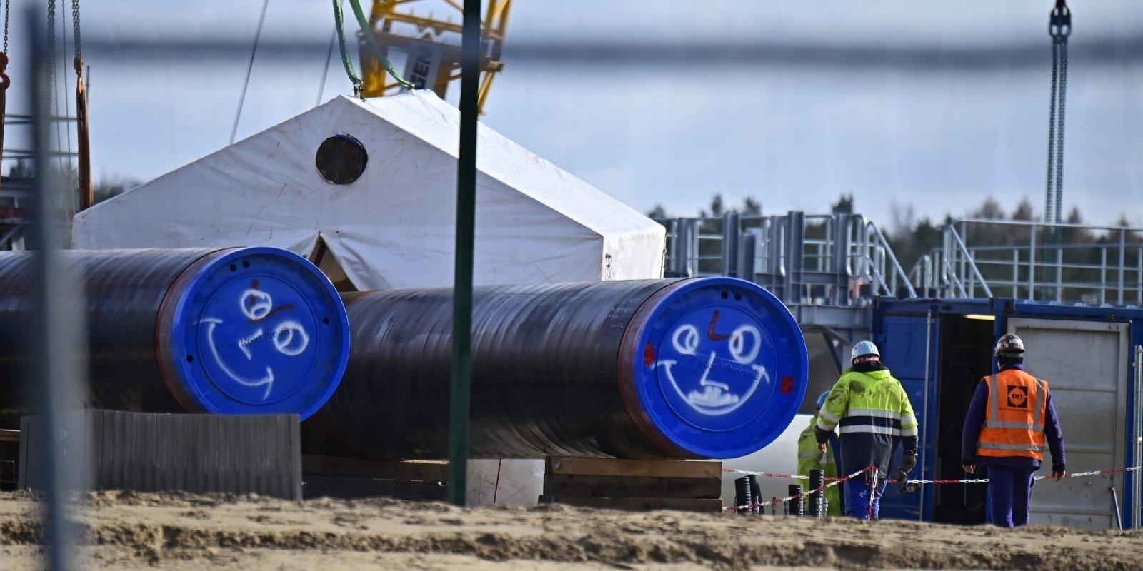Neņemot vērā bažas, 'Nord Stream 2' tuvojas finišam