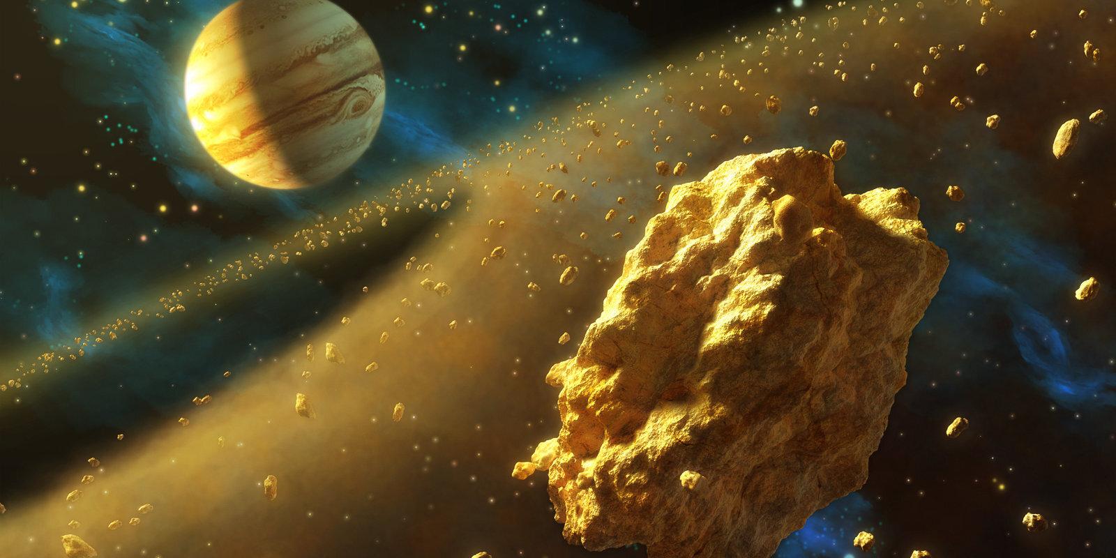 Zelta drudzis kosmosā – uz asteroīdiem pēc dārgumiem