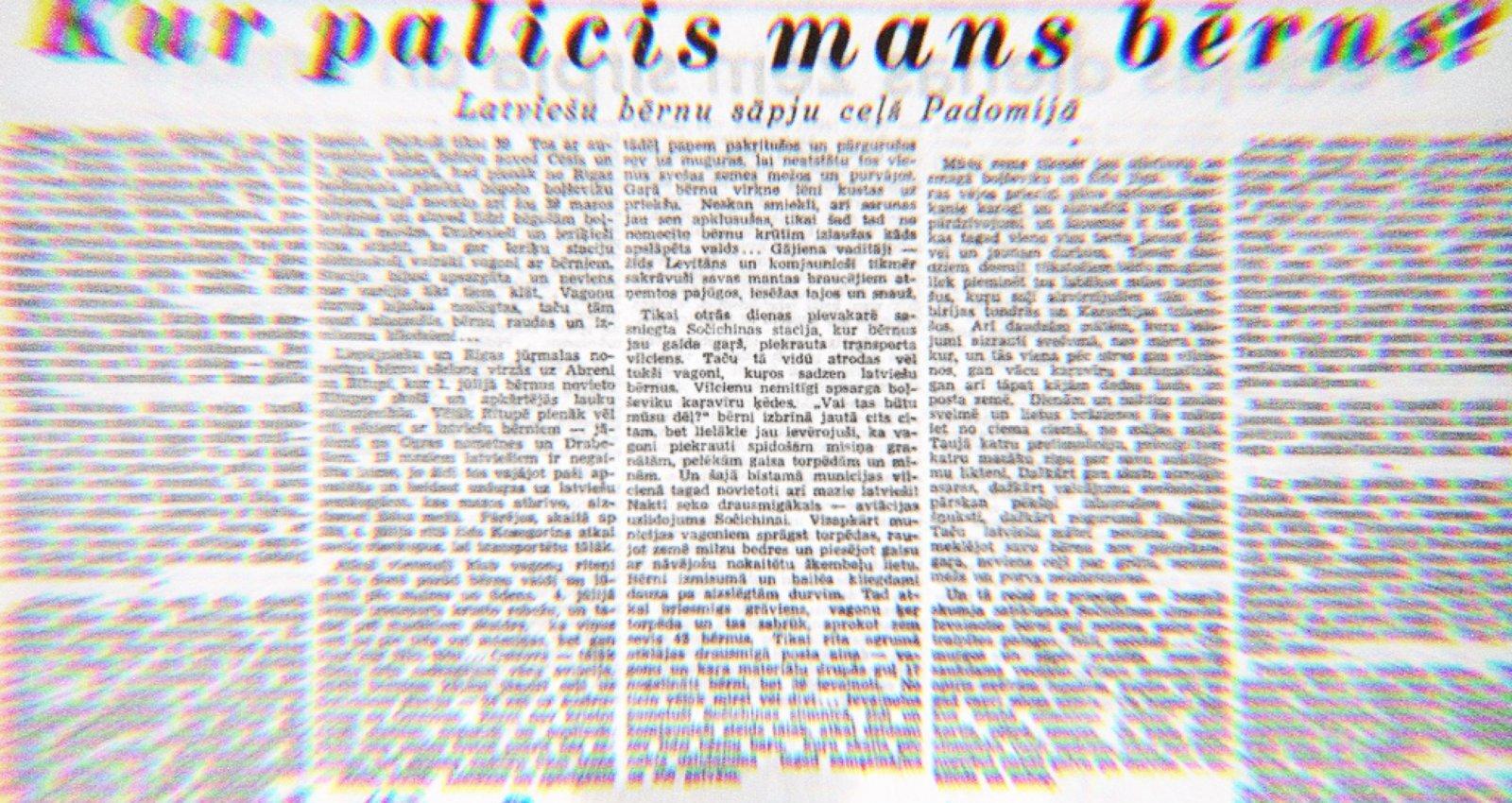 Latvijas pirmo pionieru traģēdija – kā 1941. gadā uz Tatāriju slepus izveda bērnus