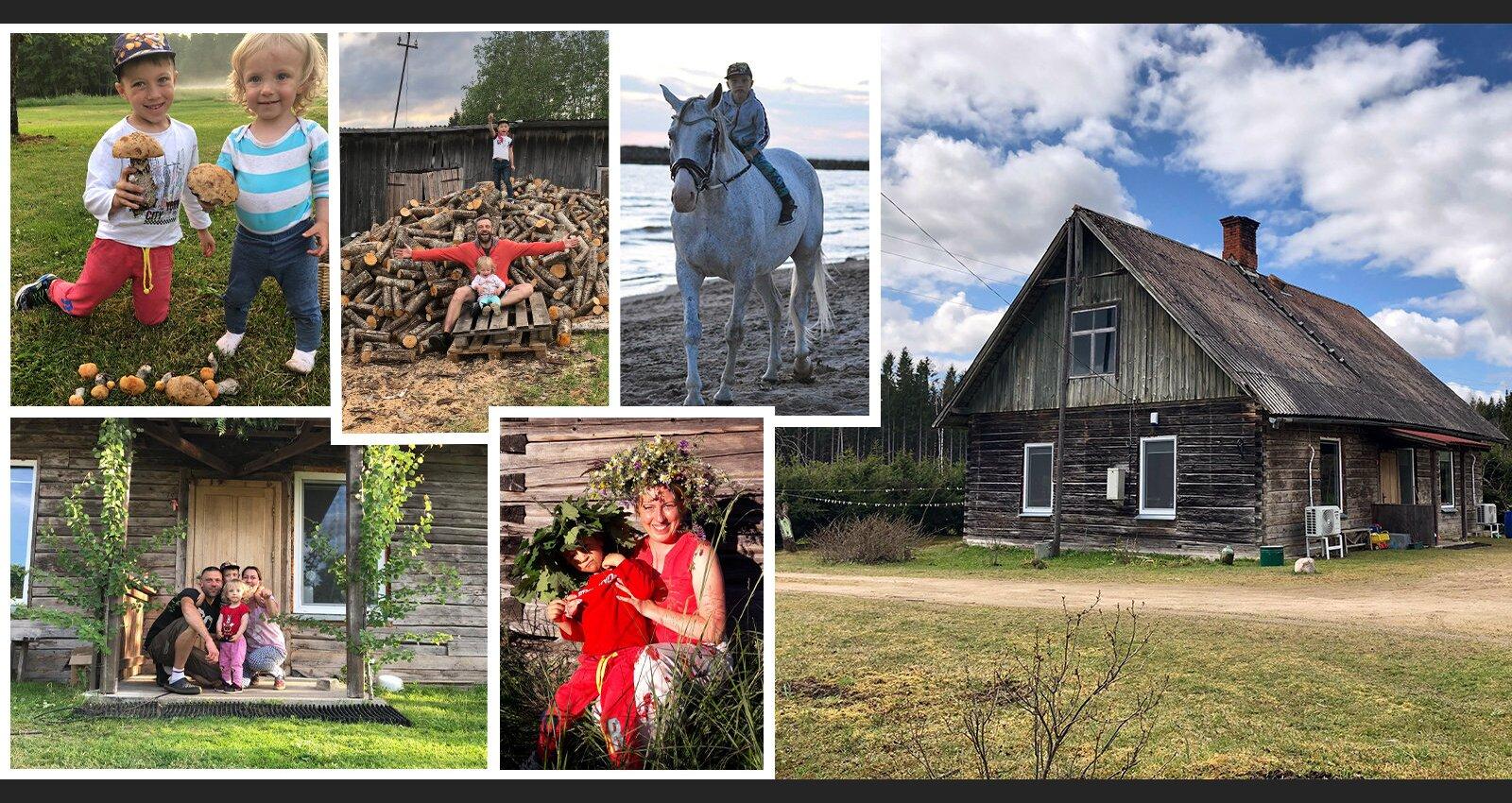 No Rīgas uz lauku viensētu. Harēviču ģimenes stāsts