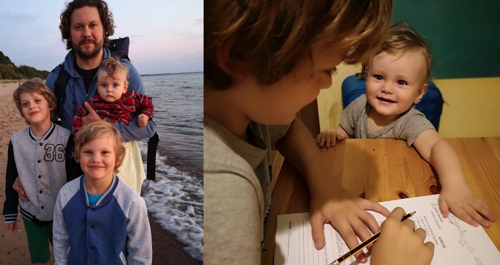 Skolotāja saviem bērniem: mammas pieredze, pašai nodrošinot mājmācību dēliem