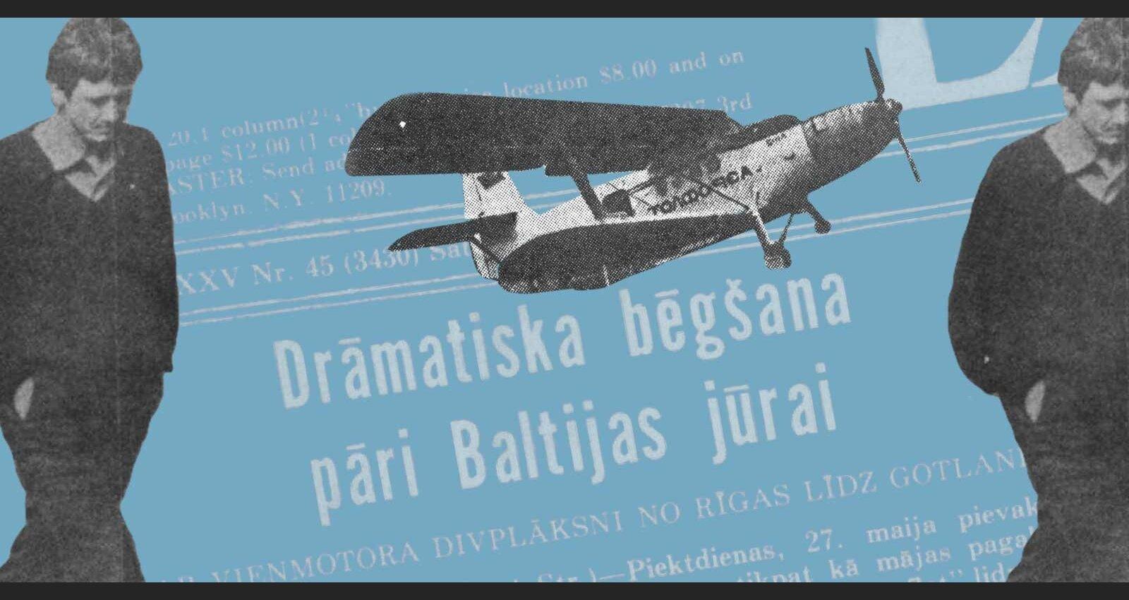 Ar kukuruzņiku uz Zviedriju: kā latviešu lidotājs 1983. gadā aizbēga no Latvijas