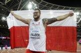 Fajdeks kļūst par trīskārtēju pasaules čempionu vesera mešanā