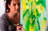 Jaunpiebaldzietes gleznu izstāde pulcē pārsteidzoši lielu skatītāju skaitu