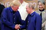 Tramps un Putins vienisprātis – Sīrijas konfliktam militāra risinājuma nav, vēsta 'RIA Novosti'