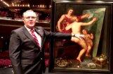 Miljoniem dolāru vērtu gleznu nejauši uziet sienas skapī