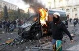 Romā cietuši 70 protestētāji; Ņujorkā arestēti 70 cilvēki