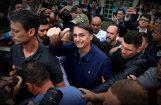 Brazīlijas prezidenta vēlēšanu pirmajā kārtā uzvar 'tropu Tramps'