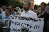 Krievijā ar degmaisījumu apmētāta pretrunīgi vērtētās filmas 'Matilde' režisora studijas ēka