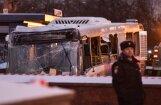 ФОТО: В Москве автобус протаранил толпу и въехал в подземный переход