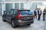 Foto: Rīgā prezentēts jaunais 'Volvo XC60' apvidnieks