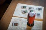Foto: Dziesmu un deju svētku tradīcijai veltīto pastmarku prezentācija