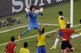 Brazīlijas un Meksikas spēle kļuvusi par otru apspriestāko 'tviterī'