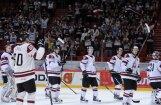 Latvijas hokejisti pasaules čempionātā nodrošinājuši vismaz desmito vietu