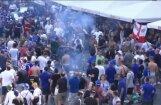 Video: 'Leicester City' fani pirms Čempionu līgas spēles demolē Madridi