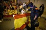 Spānija atvainojas sadursmēs ievainotajiem katalāņiem