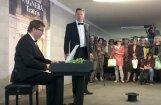Video: Pasaulslavenais operdziedātājs Egils Siliņš dzied Stacijas tunelī