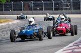 Foto: Biķernieku trasē pulcējas vēsturiskie 'Formula Junior' spēkrati no visas pasaules