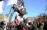 Полиция задержала молодых людей, кричавших
