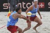 Samoilovs/Sorokins uzsāk startu pludmales  volejbola PK posmā Ķīnā