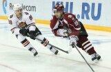 Krišjānis Rēdlihs 'uzdāvina' vārtus; Rīgas 'Dinamo' KHL pēdējā spēlē šogad zaudē Habarovskā