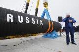 Desmit ES dalībvalstis, arī Latvija, nosūta vēstuli EK, kritizējot 'Nord Stream 2'