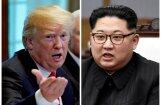 Tramps: samits ar Kimu palīdzējis pasaulei novērst 'kodolkatastrofu'