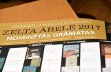 Nosaukti grāmatu mākslas balvas 'Zelta ābele' nominanti; mūža balva – Jānim Elksnim