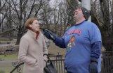 Video: Ņujorkas 'Knicks' blogeris Rīgā meklē Porziņģa fanus (1. daļa)