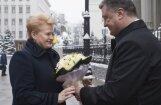 Порошенко: Литва будет поставлять оружие Украине