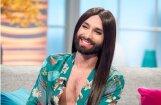 ФОТО: Бородатая Кончита все еще в образе