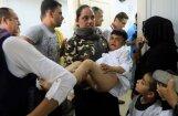 Foto: Bēgļu puikas Kurdistānā saņem cirkumcīziju