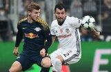Futbolists Čempionu līgas mačā prasa nomaiņu pretinieku skaļo fanu dēļ